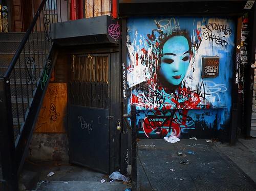 Hush Street Art, Lower East Side, New York City 2