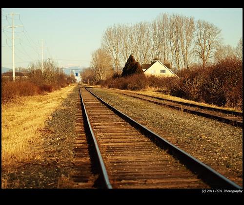 Railroad walking