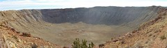 The size of Meteor Crater