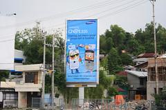 Samsung Chat 335 @ Premium Billboard Balikpapan