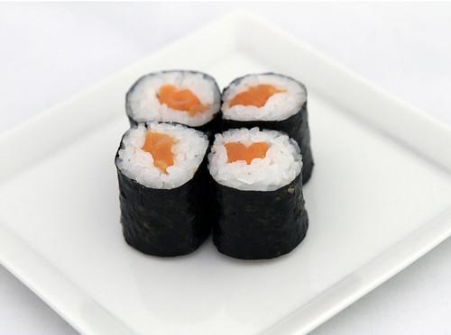 sushi white bkgd