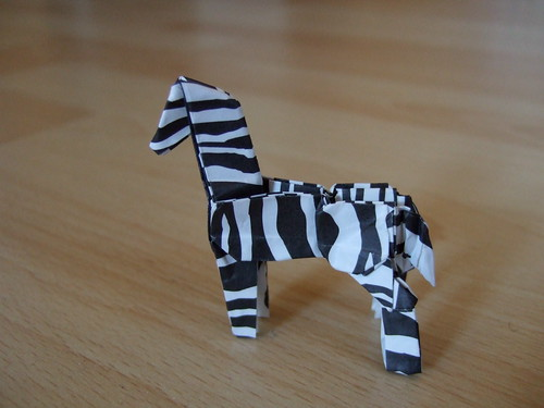 Coloring Pages For Zebra : Origami zebra image collections coloring pages adult