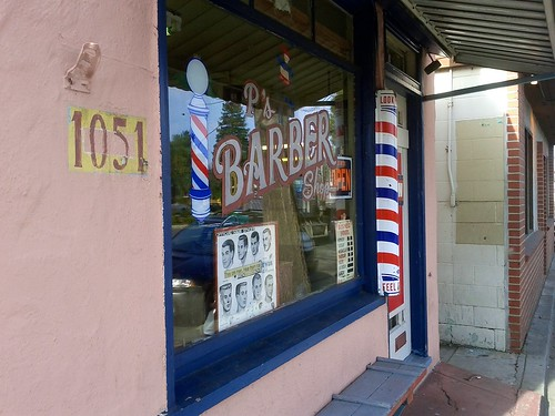Day 54 - Paul's Barber Shop