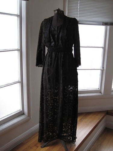 Vintage Mourning Dress