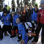 Enquist-Whistler team fun shot