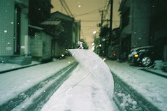 NATURA CLASSICA (shuta is shooter) Tags: snow film japan 35mm fuji natura  analogue