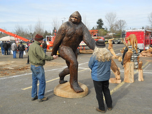 Wood Carving - Sasquatch