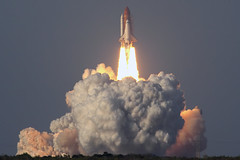 """Space Shuttle """"Discovery"""" Final Launch - STS-133 (Flightline Aviation Media) Tags: aviation nasa rocket launch discovery spaceshuttle stockphoto orbiter canon50d bruceleibowitz sts133 7053993"""