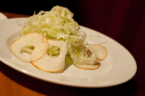 Pear, Fennel, Cauliflower Salad-Eataly, New York