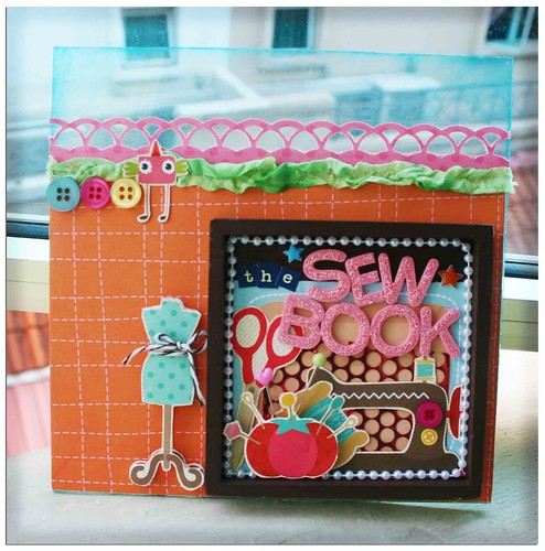 The sew book cover