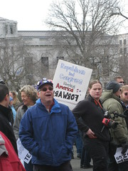 Wisconsin SIEU support rally February 2011 008