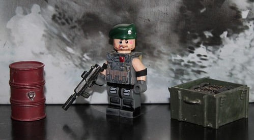 Custom minifig Commando custom minifig