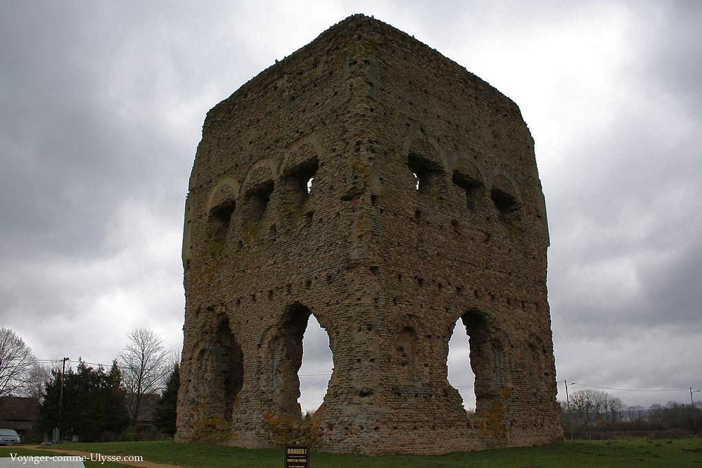 Construction typiquement gallo-romaine