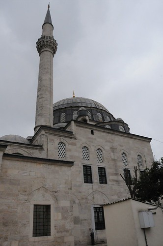 Mosque across the street from where Bahá'u'lláh stayed while in Constantinople