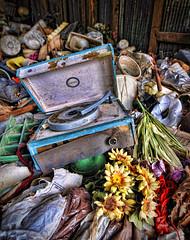 Symphonic (Greg Foster Photography) Tags: flowers atlanta trash georgia nikon rust decay wideangle player tokina study forgotten record f28 uwa d90 1116mm atx116prodx