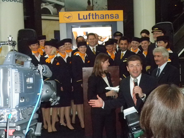Lufthansa A380 Crew