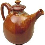 "<b>Teapot</b><br/> Dan Sorensen, LC '68 (stoneware, 2001) LFAC#2002:05:02<a href=""http://farm6.static.flickr.com/5217/5490280591_13994371c3_o.jpg"" title=""High res"">∝</a>"