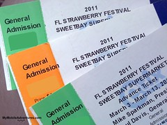 Strawberry Festival Tickets