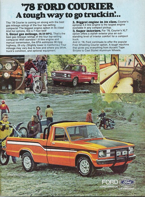 auto ford car truck vintage magazine print ranger jeep ad f100 scout 1966 chevy dodge 1978 1983 1980 picup