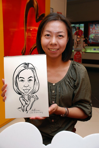 Caricature live sketching for The Cocoa Trees - Be My Valentine - Day 2 - 7