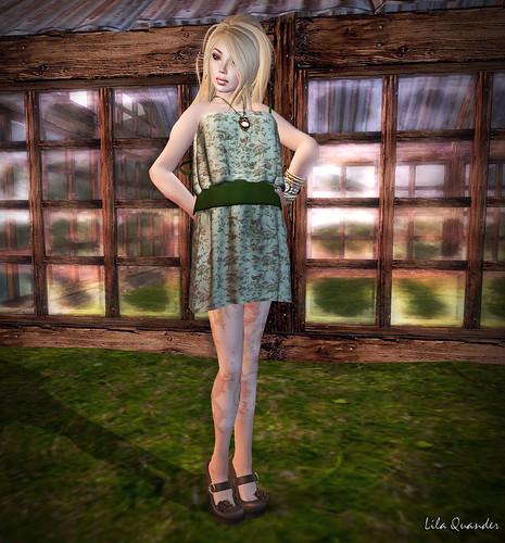S H I N E -Kyrha Dress-floral 03