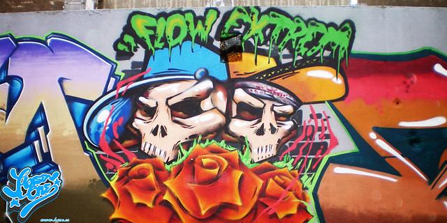 imagenes graffiti hase calaveras