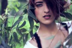 Mango tree. (Melania Brescia) Tags: portrait tree green love girl face fairy mango
