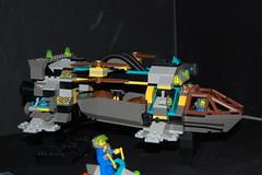 4980 Tunnel Transport (LegoMathijs) Tags: rock lego space raiders miners moc rockraiders