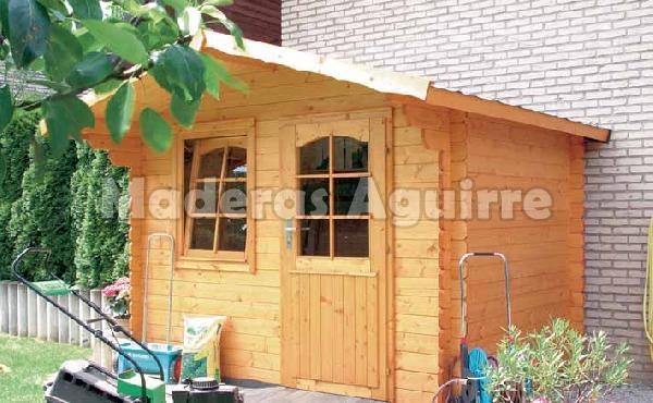 Maderas aguirre jardineria casetas de madera caseta de jardin trondheim - Maderas aguirre ...
