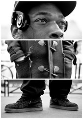 Triptychs of Strangers #7: France got talent - Paris (adde adesokan) Tags: street travel party portrait blackandwhite black paris france color love fashion bike pen bag photography hands frankreich shoes triptych bokeh strasse voigtlander voigtlaender streetphotography bob olympus stranger portrt puzzle headphones sw mann straight augen schwarzweiss schuhe schwarz voigtlnder 25mm triptic ep1 tryptic rnb triptychs f095 kopfhrer portapro streetphotographer m43 triptychon mft placedelarepublique mirrorless triptychons 100strangers microfourthirds theblackstar mirrorlesscamera