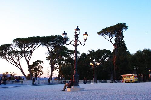 I love Rome (Villa Borghese)