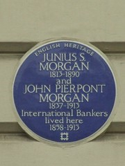 JP Morgan Lived Here
