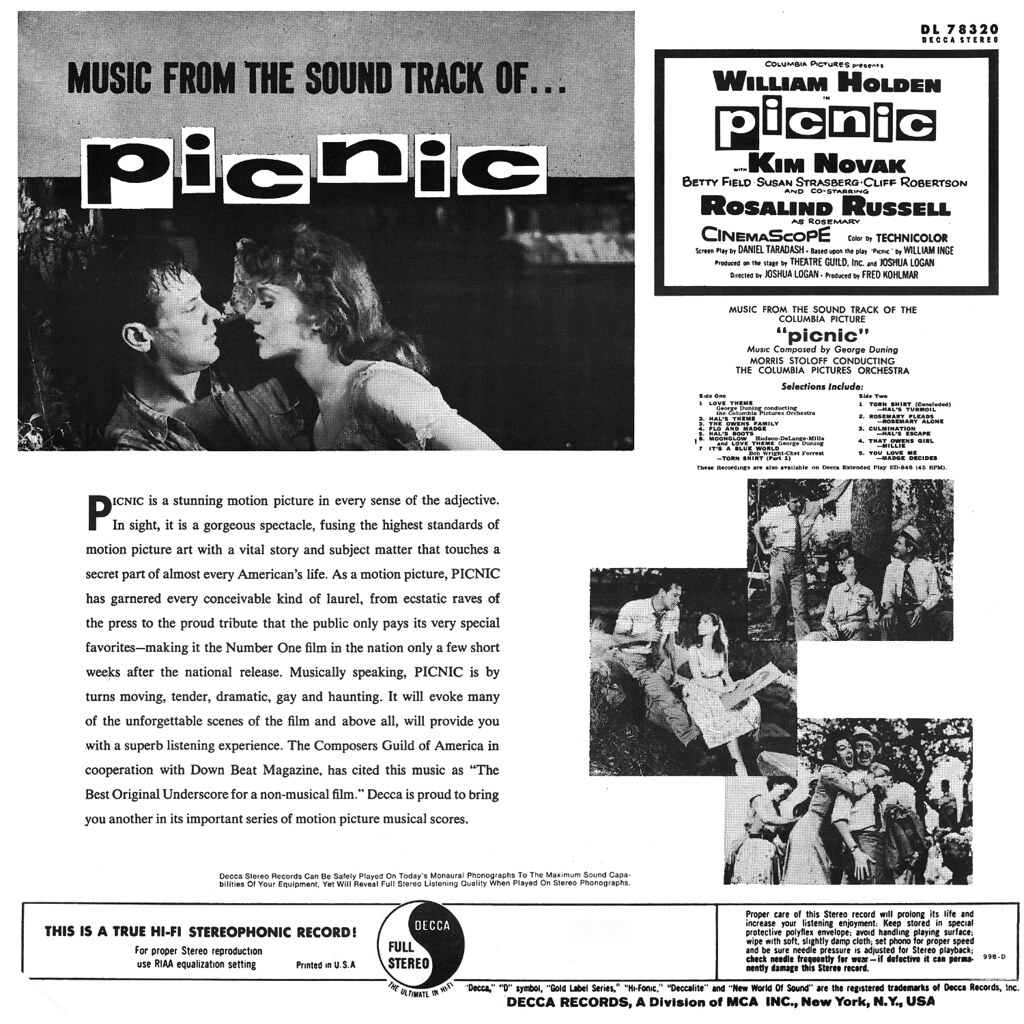 George Duning - Picnic