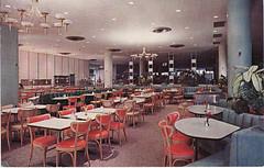 newberrys cafe (daisygrl) Tags: vintage portland postcard dining newberrys