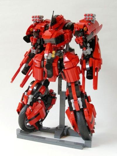 Lego Mech by Kwi-chang