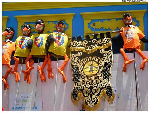 Bloco Os Abutres no Carnaval 2011. Foto: Ana Cláudia Ribeiro/Pref.Olinda