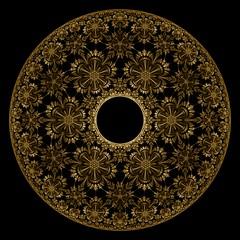 Helios (Ross Hilbert) Tags: art gold chaos digitalart symmetry computerart fractal brass ifs hyperion helios generativeart attractor theia mathart fractalart algorithmicart poincare phaethon chaosgame grandjulian fractalsciencekit