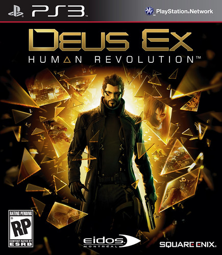 Deus Ex: Human Revolution for PS3 box art