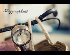 Shopping bike (raul gonza|ez) Tags: light bike vintage faro bokeh bicicleta retro bici mallorca antiguo cesta balears manillar a700 llucmajor minolta50mm