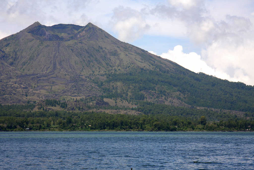 Across the lake to Gunung Batur, Bali