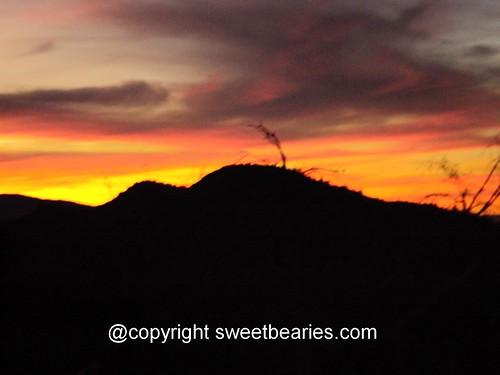 San Bernardino Mountains Sunset