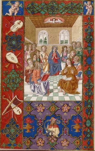 015-Oficios de la semana-Andrea Matteo Acquaviva- Sur de Italia 1519- HM 1046 Huntington Library