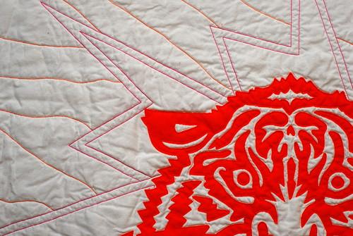 Tiger Quilt detail