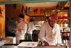 Pancake Shop (Rob-Shanghai) Tags: china people asia shanghai  leicam8 elmarit28f28 shanghailanes