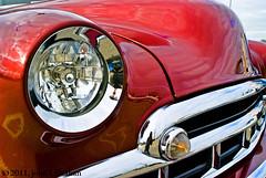 Fine Fleetline (Jobe Roco) Tags: red detail chevrolet nikon louisiana lafayette antique chevy chrome 49 modified custom 1949 fleetline photomatix d80 cmwdred exposurefusion tamron18299mm