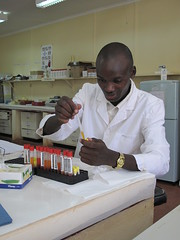The ILRI-Wellcome Trust laboratory in Busia, Kenya
