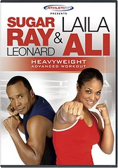 Sugar Ray Leonard and Laila Ali