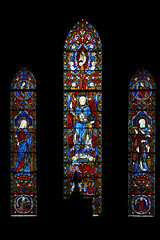 East window - Avon Dassett  John Hardman stained glass