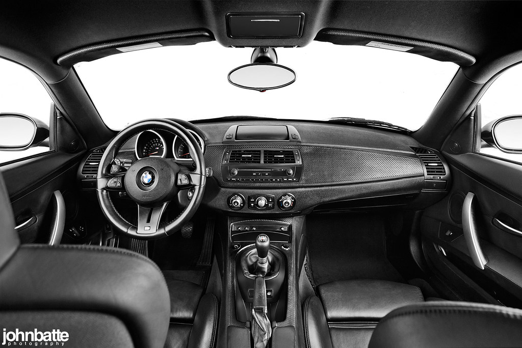 Bmw Z4 M Coupe Interior Black Nappa Extended Leather W