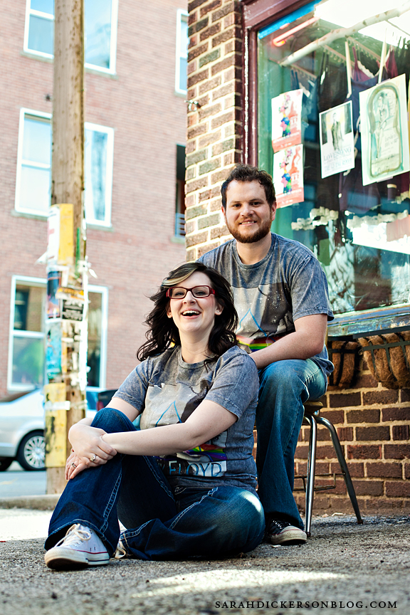 Crossroads Arts District Kansas City couples portrait photos